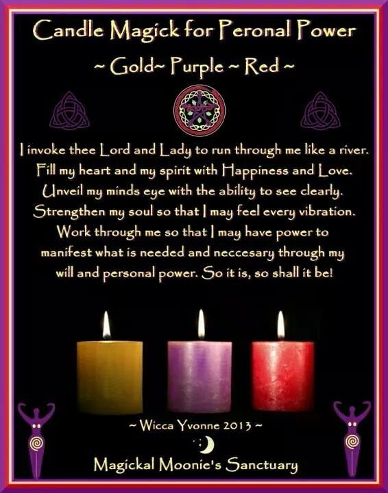 Candle Magic for Personal Power