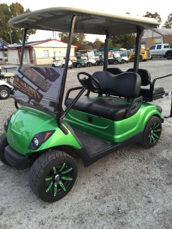 2009 Yamaha 48v Electric golf cart Custom Paint Wheels etc. Newer batteries!