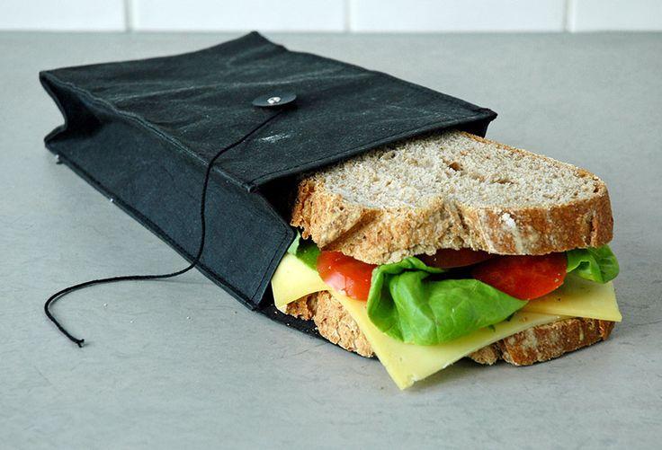 Bequeme und umweltfreundliche Sandwichtüte von Zuperzozial  https://www.multi-use.de/lunchboxen-/sandwich-tueten-und-lunch-bags/316/freshionable-lunchtasche-und-obsttuete-aus-papier