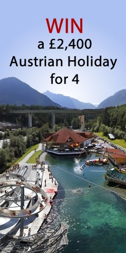 Win a £2,400 Austrian Holiday for 4 at Area 47 - the Outdoor Playground  http://womenfreebies.co.uk/competitions/win-an-austrian-holiday-for-4/