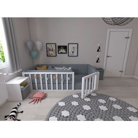 A dream 😍Bedroom for the baby. ⚠️ We do not sell the items in the photo. Profile for inspiration only. Saw