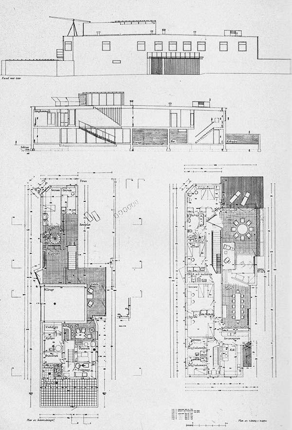 1933-37 - Villa Edstrand - Falsterbo, Sweden - Sigurd Lewerentz