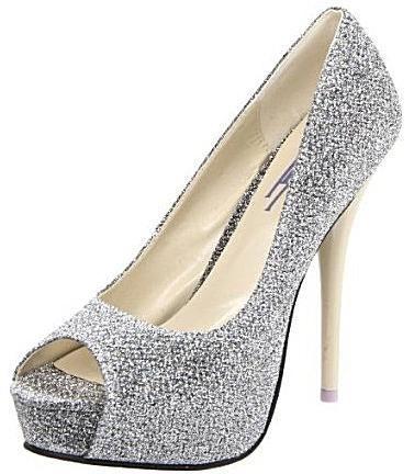 Evening Shoes for Less - Top Picks for 2011: Fahrenheit 'Landi-02G' - Pretty and Unique Evening Pumps