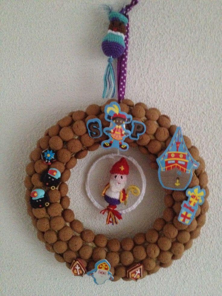 Sinterklaas en zwarte piet haken