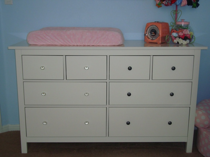Crystal Knobs On Ikea Dresser Big Girl Room Pinterest