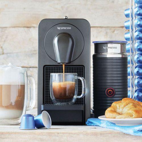 Nespresso Prodigio Smart Coffee  Espresso Maker w/ Milk Frother  Free Shipping - $160 #LavaHot http://www.lavahotdeals.com/us/cheap/nespresso-prodigio-smart-coffee-espresso-maker-milk-frother/77631