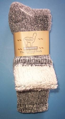 Alpaca Socks---yep these things are pretty warm and amazing and also pulled up look great with jeans and boots!