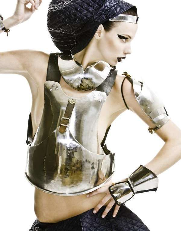 47 Warrior Fashion Finds - From Gawky Warrior Editorials to Studded Warrior Dresses (CLUSTER)