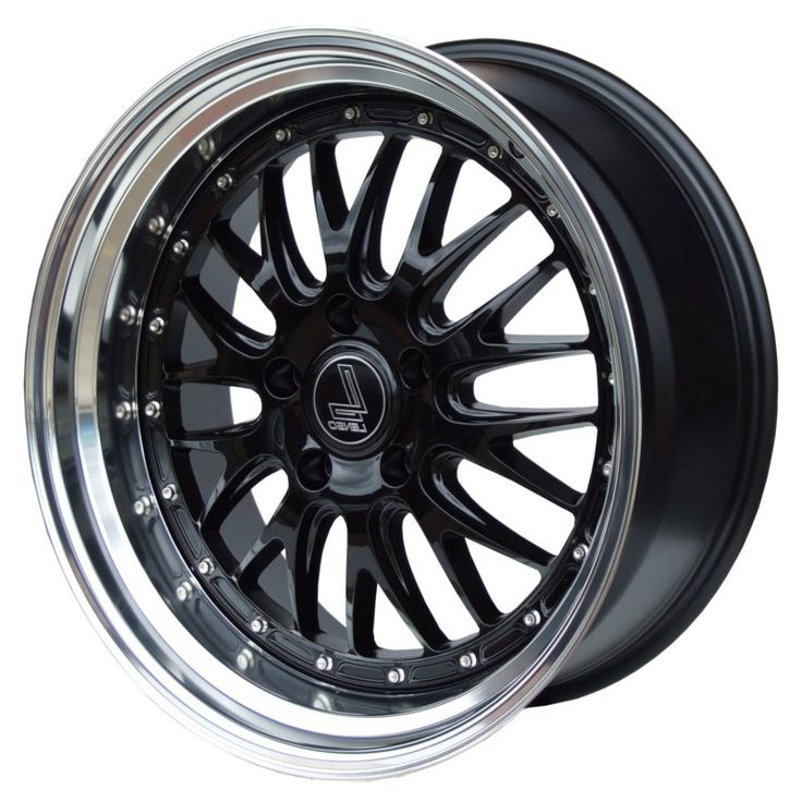 LENSO CL5 GLOSS BLACK POLISHED LIP alloy wheels with stunning look for 5 studd wheels in GLOSS BLACK POLISHED LIP finish with 19 inch rim size