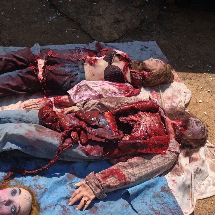 gory corpse bodies i made 3dhorrordolls halloween - Gory Halloween Decorations