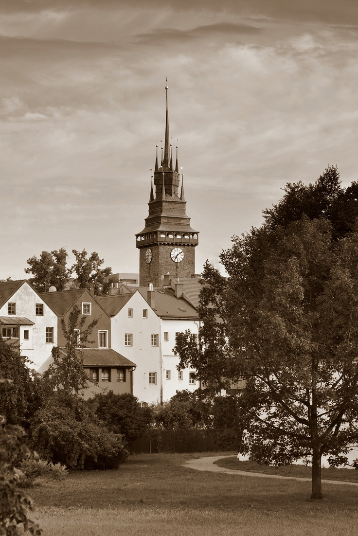 Pardubice, Czech Republic- not far from village of Netreby, home of my Janish ancestors