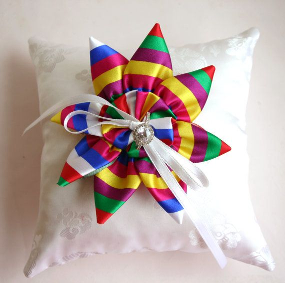 ring pillow  Korea tradition fabric part l by studioOHOO on Etsy, $39.00