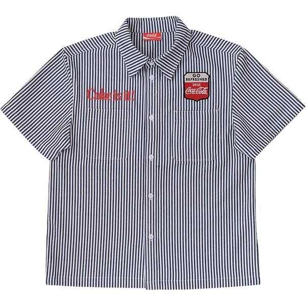 ワークシャツ ヒッコリー