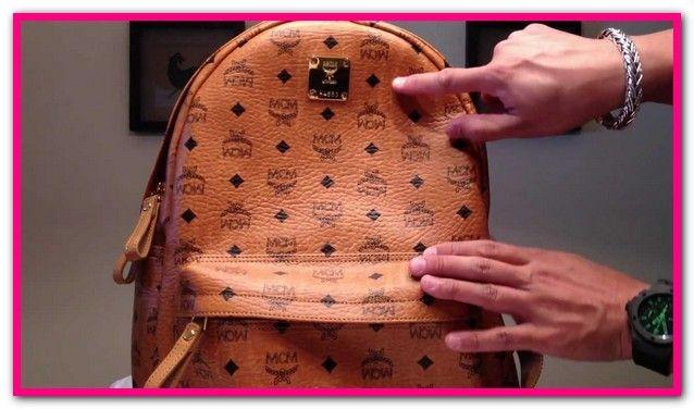 Mcm Rucksack Fake Vs Real | Mcm backpack, Mcm bags, Mcm