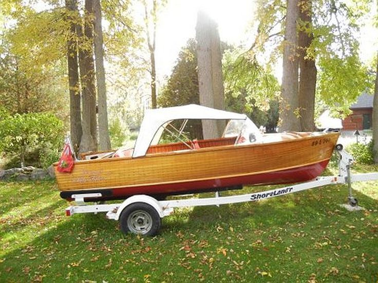 Antique Wooden Boats for Sale | Make: Peterborough Year: 1954 Model: Hawk Length: 16' $8,500 View ...