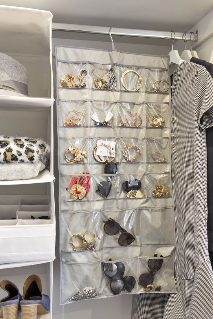 Budget Wardrobe Storage Ideas And Bathroom Space Savers Jewelry