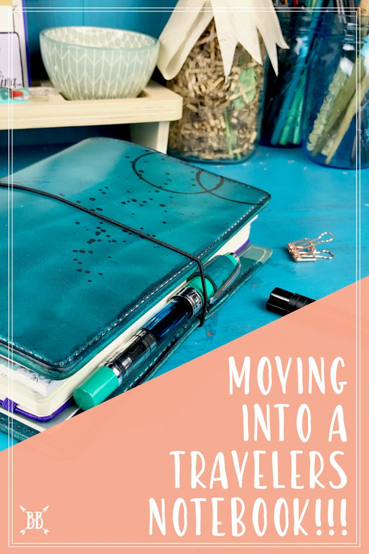 I'm SO excited to share my new Traveler's Notebook set-up with you today! Here's what brand I chose and how I'm planning on incorporating my beloved Bullet Journal :)