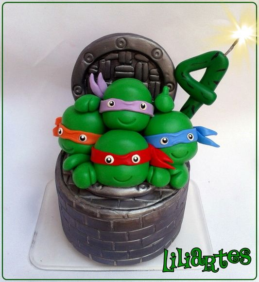 Tartarugas Ninjas kids by Liliartes
