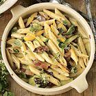 Een heerlijk recept: Jamie Oliver: pasta carbonara met courgette