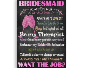 Maid of Honor Card Will You Be My Maid of Honor by TheVintagePen