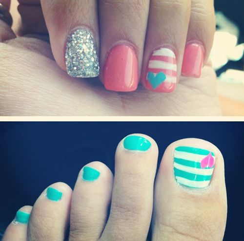 1000+ Images About Nail And Toe Designs On Pinterest
