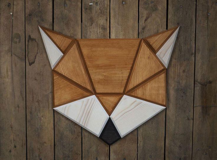 Wooden Zoo: I Make Geometric Animal Heads From Wood   Bored Panda