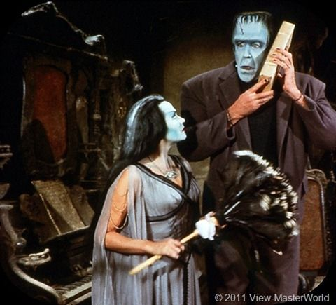 View-Master The Munsters (B481), Scene 2
