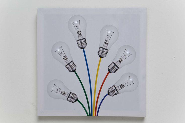 """Постер со светодиодами """"Лампочки"""" (Bulb), в ассорт"""