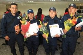 Tres policías de la SSP estudiaron la educación secundaria en el IEEA