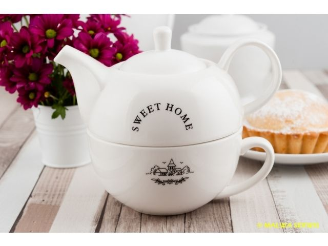 Zestaw do herbaty Tea For One Sweet Home ZM16-629