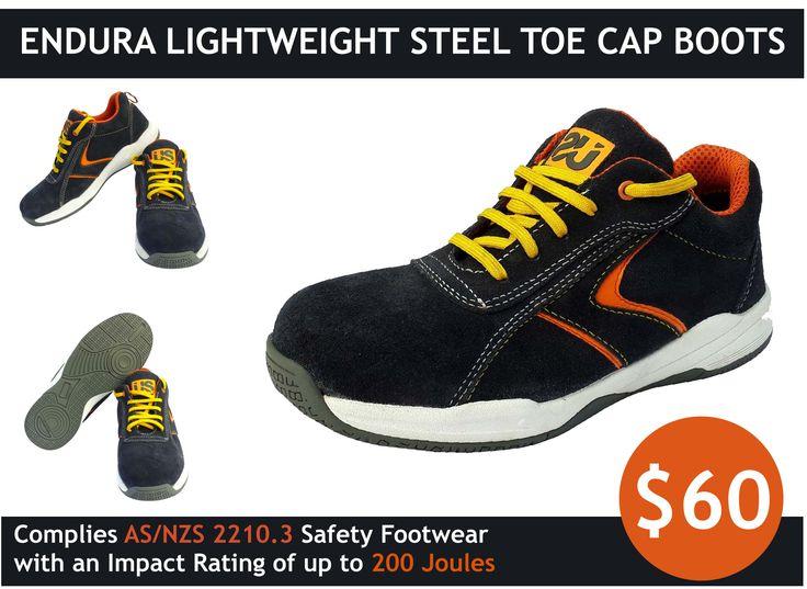 Endura Lightweight Steel Toe Cap Boots