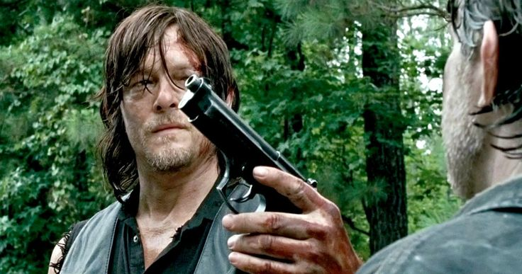 Does This 'Walking Dead' Easter Egg Spell Doom for Daryl? -- Fans have noticed something peculiar in the opening scene of 'The Walking Dead' Season 6 midseason premiere. -- http://movieweb.com/walking-dead-season-6-car-easter-egg-daryl/