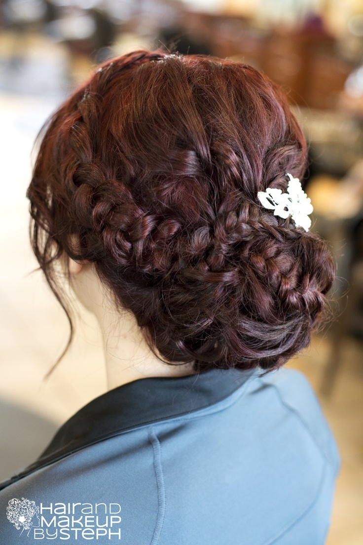 Up-do hair style, very pretty