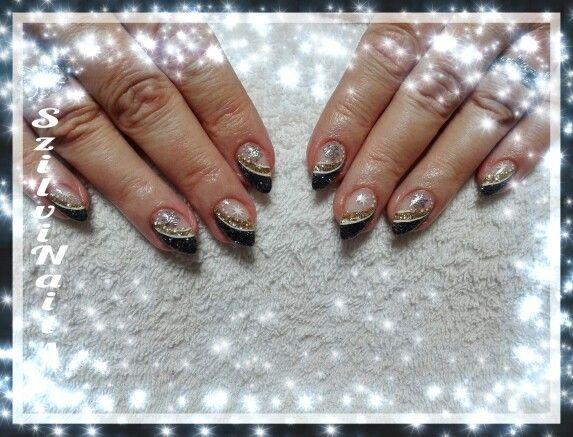 Műköröm ; Nails ; Szilvinails ; szilvinails.hu ; Karácsonyi köröm ; Christmas nails ; xmas