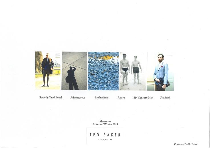 Ted Baker Customer Profile Board