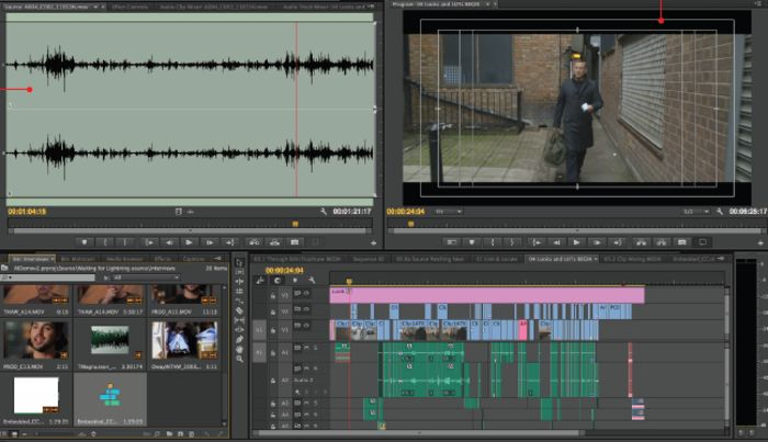Adobe Premiere Pro Screenshots