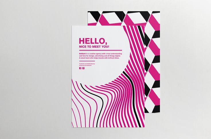 Our corporate identity: Flyer