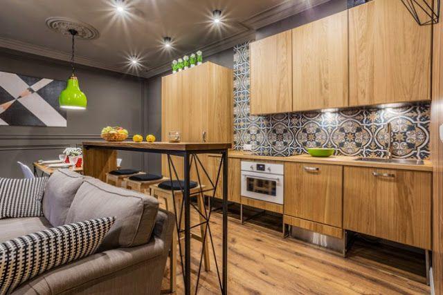 VM designblogg: Μοναδικό Μικρό Διαμέρισμα στην Πολωνία
