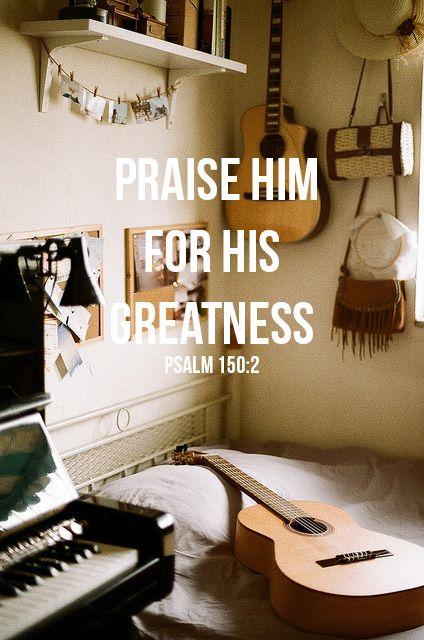 Psalm 150:2