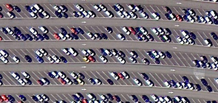 Estacionamiento en Disney