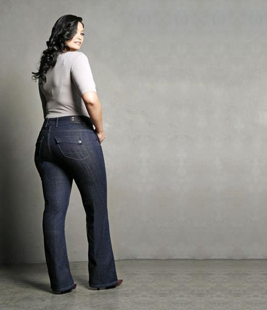 thebudgefashionista.com ... Not only does it have affordable shopping, but the best fit denim for plus size women!