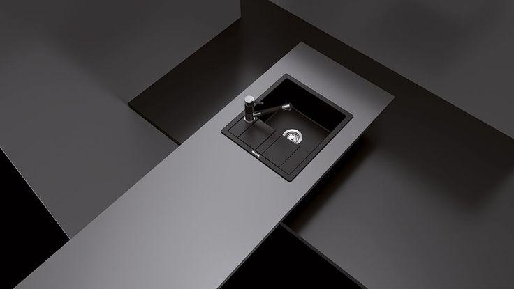 Chiuveta este reversibila, gaura pentru montarea bateriei este prefrezata, iar instalatorul o poate adapta conform solicitarilor individuale. Pachetul include garnitura de scurgere, ventil cos, sifon si cleme. Dimensiunea chiuvetei este 580 x 500 mm, adancimea cuvei este 190 mm, iar latimea corpului de chiuveta trebuie sa fie de minim 45 cm.