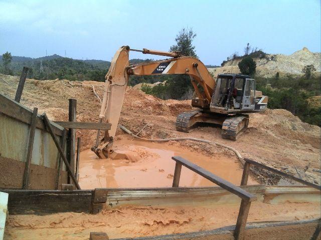 Penambangan Pasir Ilegal di Kota Batam