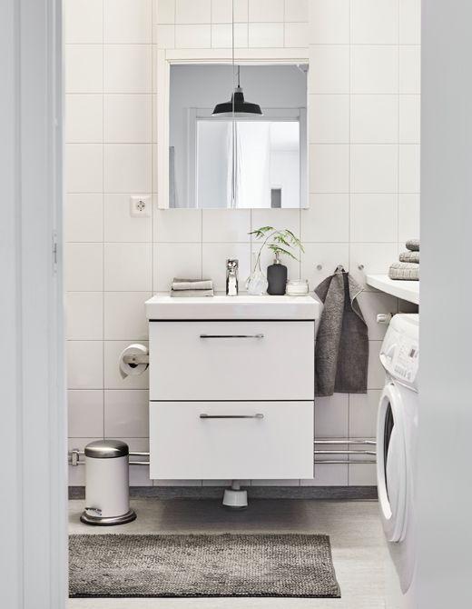 159 besten ikea badezimmer spa bilder auf pinterest. Black Bedroom Furniture Sets. Home Design Ideas