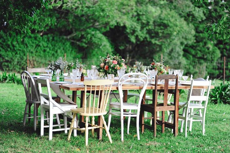 Mismatched Chairs - Hodgepodge Hire