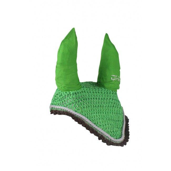 Mooi groen #oornetje voor uw #minipaard. Bestel nu snel bij de grootste webshop voor minipaarden en #shetlanders !
