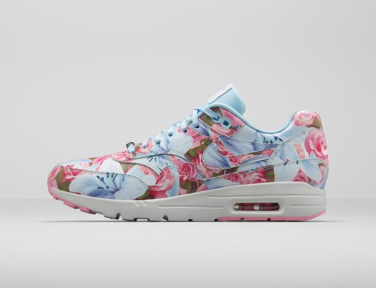 nike womens air max 1 white glass blue safari fishing