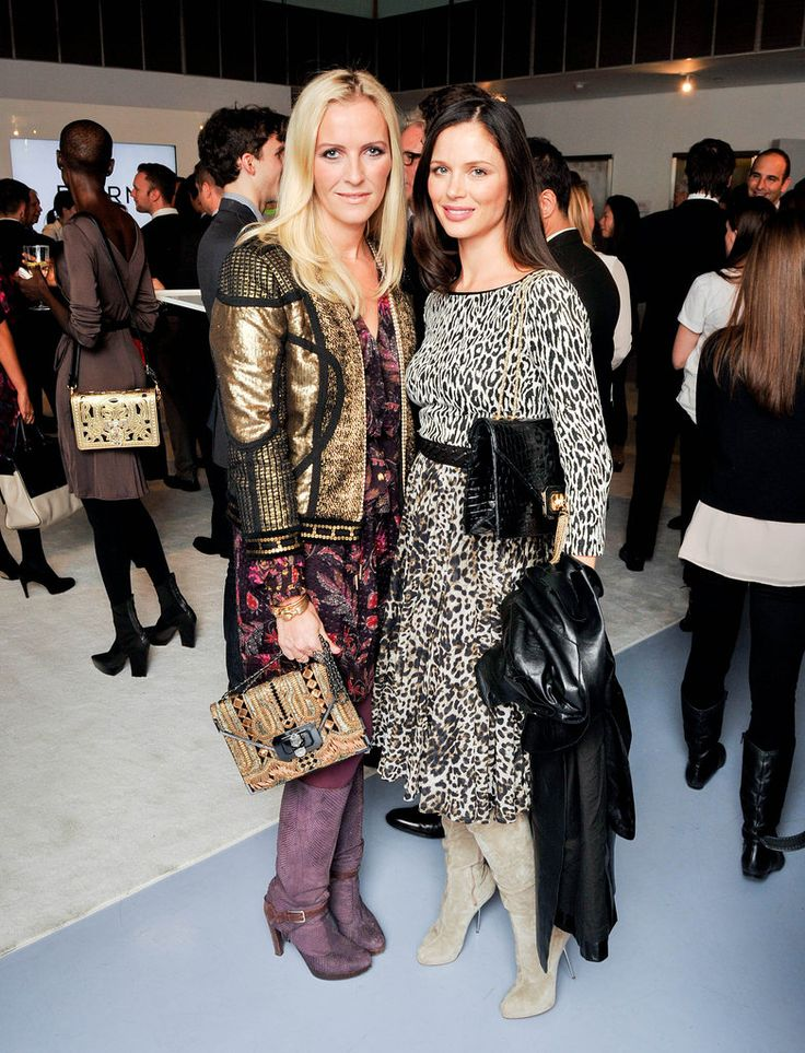 Keren Craig and Georgina Chapman at the Bornfree campaign press | Style Set: The Week's Best Dressed | POPSUGAR Fashion
