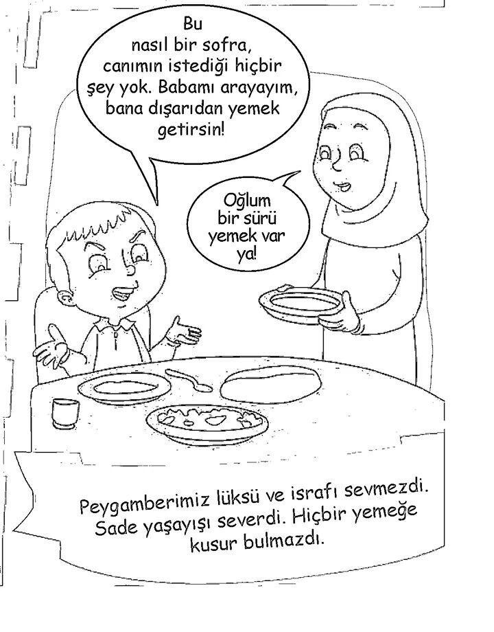 93 En Iyi Din Boyama Goruntusu 2020 Din Boyama Sayfalari Ve Tintin
