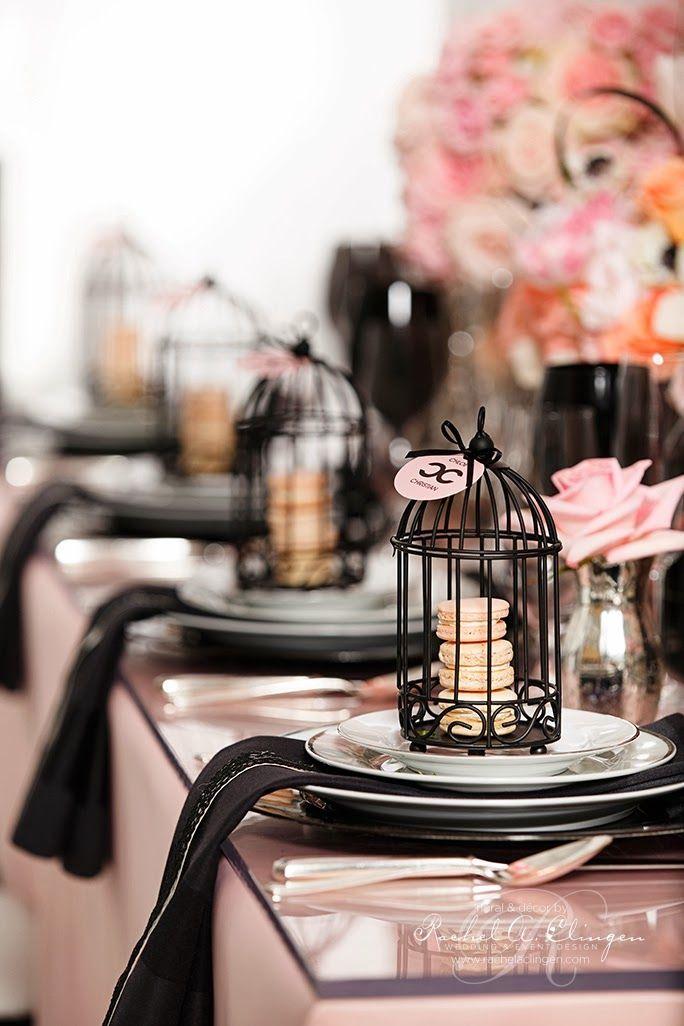 Bella Fiore Decoração de Eventos: Festa Chanel